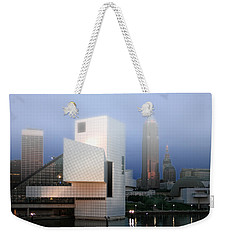 The Rock And Roll Hall Of Fame Weekender Tote Bag