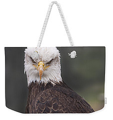 The Stare Weekender Tote Bag by Eunice Gibb