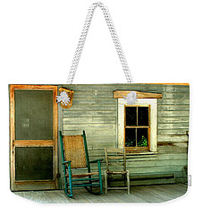 The Stories They Could Tell Weekender Tote Bag by Myrna Bradshaw