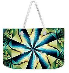 The Waves Of Silk Weekender Tote Bag