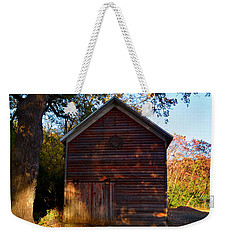 The Weathered Shed Weekender Tote Bag