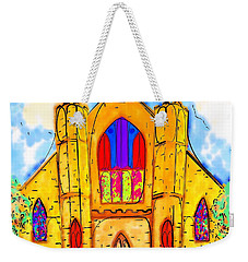 The Wedding Chapel Weekender Tote Bag