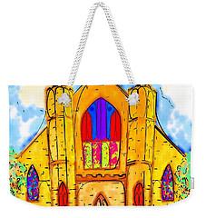 The Wedding Chapel Weekender Tote Bag by Alec Drake
