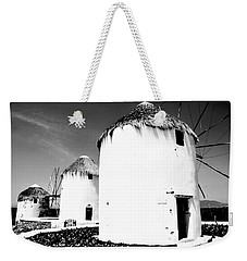 The Windmills Of Mykonos Weekender Tote Bag