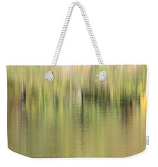 Weekender Tote Bag featuring the photograph The Woods by Penny Meyers