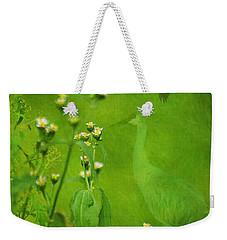 Think Green Weekender Tote Bag by Vicki Pelham