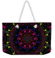 Think Pink Weekender Tote Bag by Alec Drake