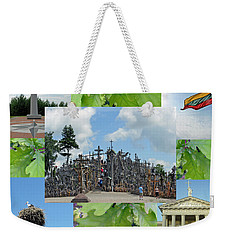 Weekender Tote Bag featuring the photograph This Is Lietuva- Lithuania by Ausra Huntington nee Paulauskaite