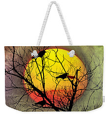 Three Blackbirds Weekender Tote Bag by Bill Cannon