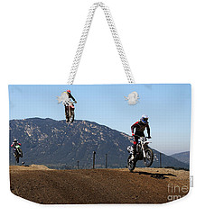 Three In The Air Weekender Tote Bag