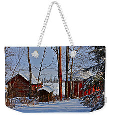 Three Little Houses Weekender Tote Bag