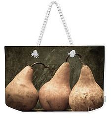 Three Pear Weekender Tote Bag by Edward Fielding