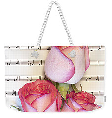 Roses And Wine Weekender Tote Bag