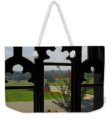 Through The Chapel Arches Weekender Tote Bag by Cindy Manero