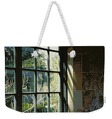 Weekender Tote Bag featuring the photograph View Through The Window by Marilyn Wilson