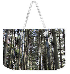 Through The Woods Weekender Tote Bag by Jeannette Hunt