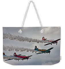 Thunder Weekender Tote Bag by Betsy Knapp