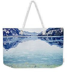 Thunersee Von Leissigen Weekender Tote Bag by Ferdinand Hodler