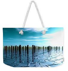 Tide Is Out... Weekender Tote Bag by Tim Fillingim