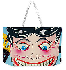 Tillie The Clown Of Coney Island Weekender Tote Bag