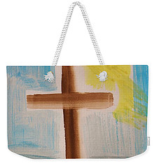Tim Tebow's Cross-easter Monday Weekender Tote Bag