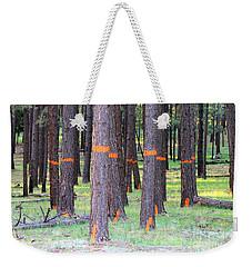 Timber Marking Weekender Tote Bag