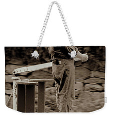 Weekender Tote Bag featuring the photograph Timeless Serenity by Suzanne Stout