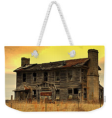 Weekender Tote Bag featuring the photograph Times Past by Marty Koch