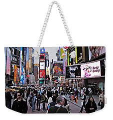 Times Square New York Weekender Tote Bag