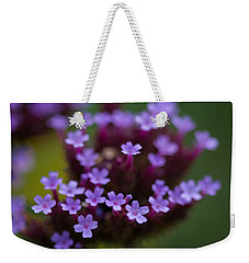 tiny blossoms II Weekender Tote Bag by Andreas Levi