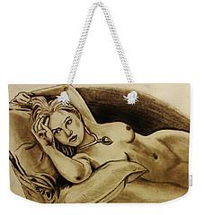 Titanic Rose Weekender Tote Bag by Michael Cross