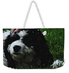 Weekender Tote Bag featuring the photograph TLC by Lydia Holly