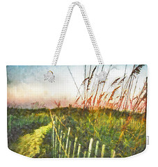 To The Sea Weekender Tote Bag by Lynne Jenkins