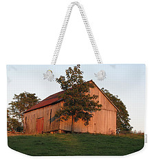 Tobacco Barn II In Color Weekender Tote Bag