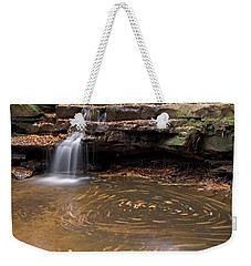 Tolliver Falls Weekender Tote Bag by Jeannette Hunt