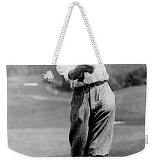 Weekender Tote Bag featuring the photograph Tom Armour Wins Us Golf Title - C 1927 by International  Images