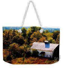 Weekender Tote Bag featuring the photograph Touch Of Old Country by Peggy Franz