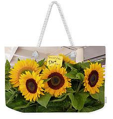 Tournesol Weekender Tote Bag by Carla Parris