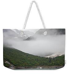 Tracy Arm Inlet Weekender Tote Bag