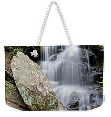 Tranquil Waterfall Weekender Tote Bag
