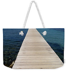 Weekender Tote Bag featuring the photograph Tranquility  by Lainie Wrightson