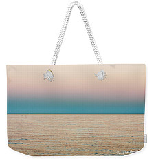 Tranquility On The Ocean Horizon Weekender Tote Bag by Carol F Austin