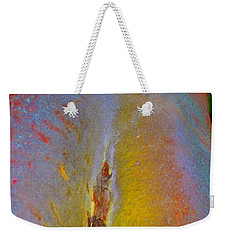 Weekender Tote Bag featuring the digital art Transform by Richard Laeton