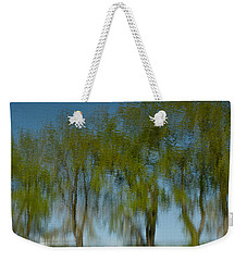 Tree Line Reflections Weekender Tote Bag