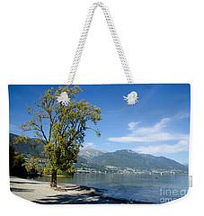 Tree On The Beach Weekender Tote Bag