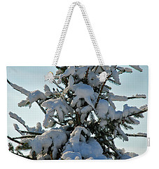 Weekender Tote Bag featuring the photograph Tree Top by Mark Dodd