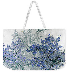 Trees Above Weekender Tote Bag
