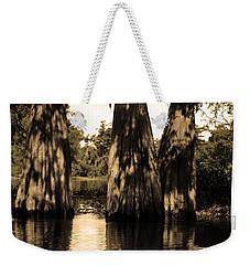 Trees In The Basin Weekender Tote Bag