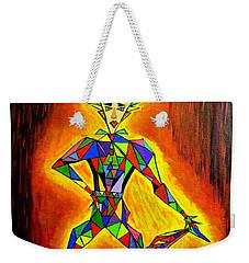 Triangle Man Weekender Tote Bag