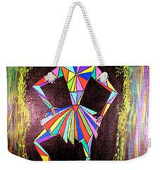 Triangle Woman Weekender Tote Bag